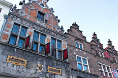 Geveltop in Holland royalty-vrije stock afbeelding
