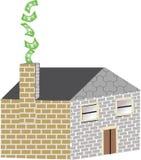 Gevergeudete Energie Lizenzfreies Stockfoto