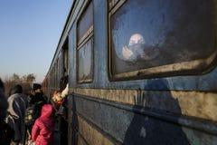 Gevgeljia macedonian border Stock Images