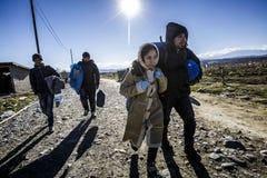 Gevgeljia macedonian border Stock Photos