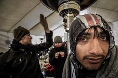 Gevgeljia macedonian border Royalty Free Stock Images