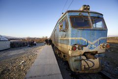 Gevgeljia macedonian granica zdjęcie stock