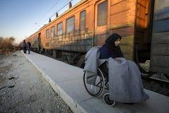 Gevgeljia macedonian granica zdjęcia stock