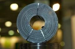 Gevlechte de strook van het staal Stock Foto
