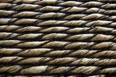 Gevlechte matten die van banana2 worden gemaakt Stock Foto