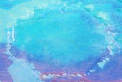 Gevlekt abstract kleurrijk waterverf achtergronddocument ontwerp FO royalty-vrije stock afbeeldingen