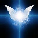 Gevleugelde engel royalty-vrije illustratie