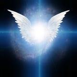 Gevleugelde engel Stock Afbeelding