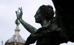 ` Gevleugelde Overwinning ` Godin Nike, een karakter van Griekse mythologie, die `-Overwinning ` symboliseren royalty-vrije stock afbeelding