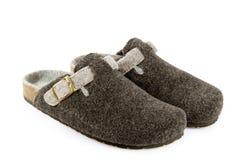 Gevoelde pantoffel Royalty-vrije Stock Foto's