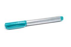 Gevoelde pen met een aquakap Stock Foto's