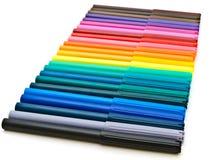 Gevoelde pennen royalty-vrije stock foto