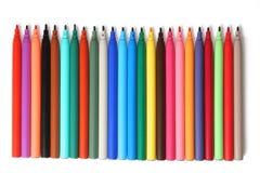 Gevoelde pennen royalty-vrije stock fotografie