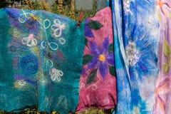 Gevoelde sjaals Royalty-vrije Stock Fotografie