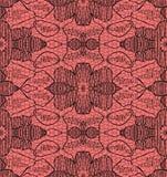 Gevoelig kant op roze Stock Foto's