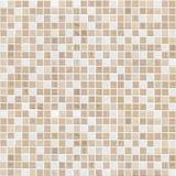 Gevoelige de tegelmuur van het kleuren bruine mozaïek Royalty-vrije Stock Foto's
