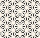 Gevoelige lineaire textuur met driehoeken, ruiten, dunne lijnen, hexagonaal net Royalty-vrije Stock Fotografie