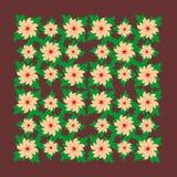 De vectorillustratie van bloemen stock illustratie