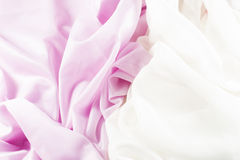 Gevoelige roze zijde Royalty-vrije Stock Fotografie