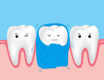 Gevoelige tanden Royalty-vrije Stock Foto's