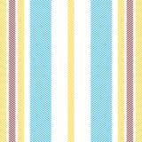 Gevoerd simplistisch textiel naadloos patroon stock illustratie