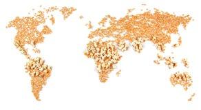 Gevolgen van het globale verwarmen Royalty-vrije Stock Foto's