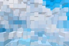 Gevolgenvorm van Abstracte Achtergronden Royalty-vrije Stock Foto