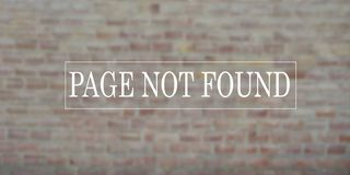 Gevonden niet paginabericht royalty-vrije stock fotografie