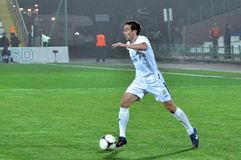 Gevorg Ghazaryan with the ball Stock Photography