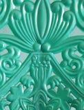 Gevormd plastic ontwerp stock foto
