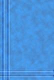 Gevormde blauwe achtergrond Royalty-vrije Stock Foto