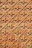 Gevormde muur Royalty-vrije Stock Fotografie