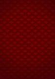 Gevormde rode achtergrond Stock Foto's