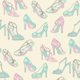 Gevormde schoenaf:drukken Royalty-vrije Stock Afbeelding
