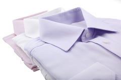 Gevouwen overhemden Royalty-vrije Stock Afbeelding