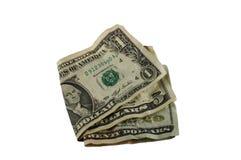Gevouwen rekeningen Royalty-vrije Stock Fotografie