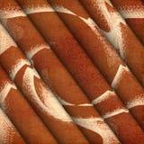 Gevouwen stof Stock Foto's