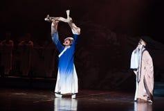 """Gevraagd in boeddhisme-Verslag van Zuidelijke boeg-Jiangxi opera""""four dromen van linchuan† Royalty-vrije Stock Foto"""
