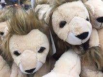 Gevuld Dierlijk Toy Lions stock afbeelding