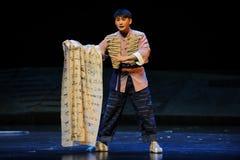 Gevuld met de opera van Jiangxi van de grievendoek een weeghaak Stock Foto