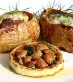 Gevulde aardappel Stock Afbeeldingen