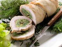 Gevulde het broodje van Turkije Stock Foto's