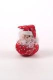 Gevulde Kerstman stock afbeeldingen