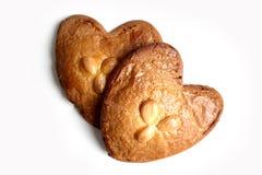 Gevulde koek (γεμισμένο μπισκότο με την κόλλα αμυγδάλων) Στοκ φωτογραφία με δικαίωμα ελεύθερης χρήσης