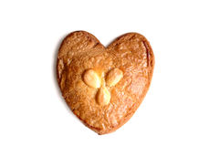 Gevulde koek (filled cookie with almond paste) Royalty Free Stock Images