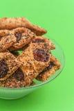 Gevulde koekjes Stock Fotografie