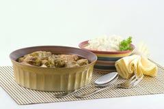 Gevulde Kool en aardappels Royalty-vrije Stock Fotografie