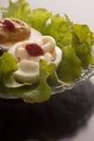 Gevulde smakelijke eieren Royalty-vrije Stock Afbeeldingen
