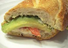 Gevulde Sub van de Italiaanse sandwich Stock Fotografie