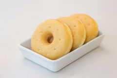 Gevulde suikerdoughnut Stock Fotografie